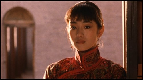 Gong Li in Raise the Red Lantern