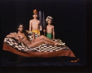 Renee Cox, Olympia's Boyz, 2001.